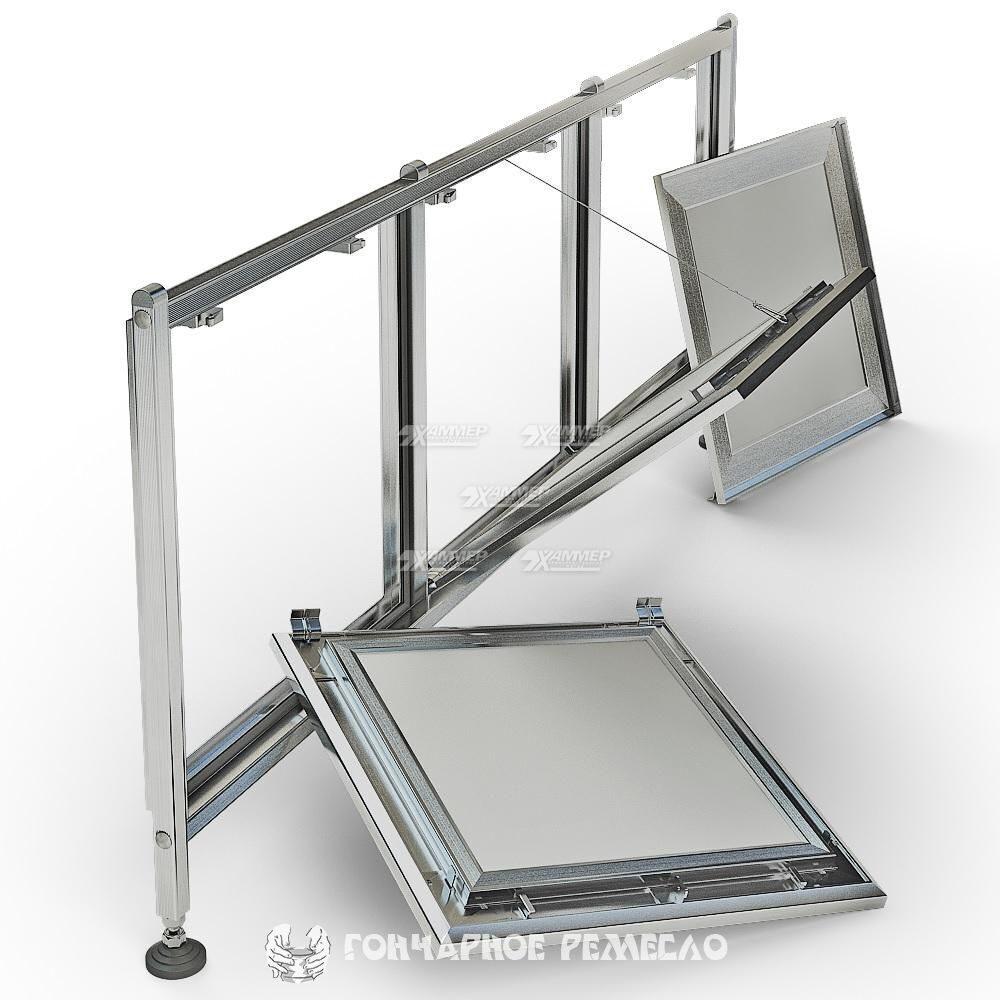 Алюминиевый люк для ванны